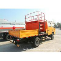 Quality Dongfeng 8-10M Man Lift Boom Truck For High Operation LHD / RHD EURO 3 for sale