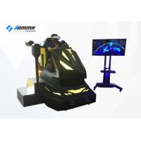 Quality Black VR Dynamic Video Car Racing Simulator Game Machine Resolution 2560*1440 for sale