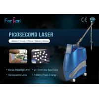 Quality 2500W big power tattoo clear pigmentation removal 2018 New technology picosecond laser machine for sale