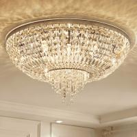 Quality Crystal flush ceiling lights uk Round Shape For House Lighting Fixtures (WH-CA-45) for sale