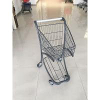Quality 40 Liter Steel Tube Grocery Store Shopping Cart For Airport Supermarket for sale
