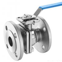 DIN 2pc Floating Type Stainless Steel Ball Valve With ISO5211 Direct Flange End Cf8m/SS ball valve/150LB