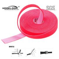 Quality Garments Industrial Ultra Thin Hook And Loop Fastening Tape Low Shinkrage for sale