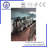 Quality 100L 200L Bright Beer Tank BBT With Manhole Insulated High Pressure 500L 800L 1000L for sale