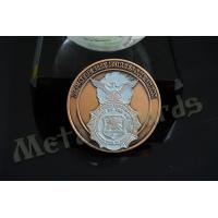 2D Army Challenge Coins Souvenir Gift , Round Military Commemorative Coins