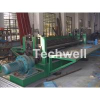 Quality High Strength Round Wave Corrugated Sheet Roll Forming Machine Horizontal for sale