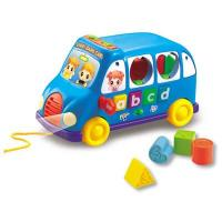 Kid Intelligent Toys, Child Learning Toys - DIY Block Car With Music (H0622057)
