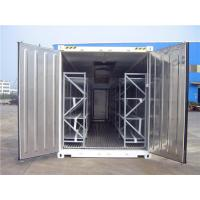 Quality Refrigerated Cold Processing Mobile Cooler Trailer For Meat Fishing Cooler for sale