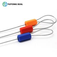 Buy YTCS107 customized length security plastic coating cable seal at wholesale prices