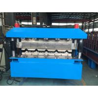Buy Large Roof Panel Roll Forming Machine 40GP Container By Chain at wholesale prices