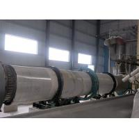 SS 304/316L CS Sand Dryer Machine , Rotary Sand Dryer OEM Service