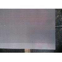 Quality 1.0 Millimeter Micro Hole Steel Perforated Metal Sheet for Acoustic Wall Panels for sale