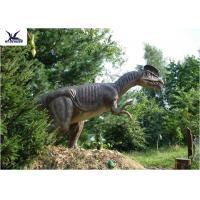 Forest Decoration Handmade Dinosaur Garden Ornaments / Life Size Real Dinosaur Models