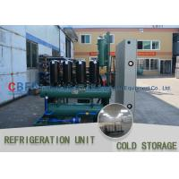 China Ice Cooling Freezer Cold Room America Copeland Compressor Condensing Unit 100MM Panel on sale