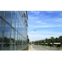 Quality Large Aluminium Double Glazed Curtain Walls With Blue Lowes Glass for sale
