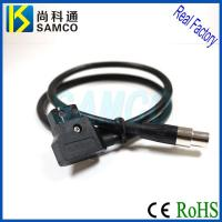 Quality D-Tap Connector to XLR Female / male Push Pull Self Latching Cable Assembly for sale