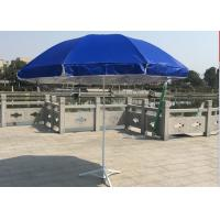 Classic Design Solid Outdoor Garden Umbrella , Market Patio Umbrella Parasols