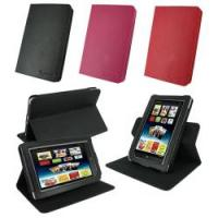 Quality Black Pink Red PU Leather Rotate Protective Barnes & Noble Nook Cover Case for sale
