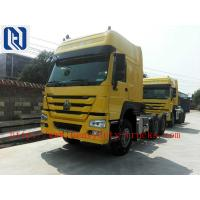 Quality Red 40 Ton 6x4 Prime Mover Trailer Truck Diesel 336HP , EURO II Standard , Global Machine for sale