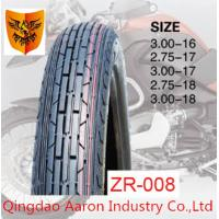 Quality 2015 hot sale motorcycle tyre 2.50-17, 2.75-17 , 3.00-17 6PR 35%-45% rubber content for sale