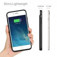 Quality iPhone 8/7/6/6S Battery Case 3000mAh Lingthing Earphone Supported Ultra Slim  Charging Case Charger Audio/Data Sync for sale