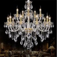 Quality Modern Gold crystal chandelierslight fixtures on sale (WH-CY-12) for sale