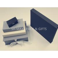 Quality Small / Large Luxury Jewellery Packaging Boxes White Black Personalised Custom Made for sale