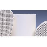 Quality Diesel SCR Substrate System , Cordierite Honeycomb Ceramic Support for sale