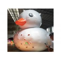 China 0.9 Mm Plato PVC Big Inflatable Water Toys / Floating Blow Up Duck For Pool on sale