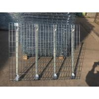 Quality Industrial Pallet Rack Wire Decking Rigid Metal Steel Wire Deck Panels for sale