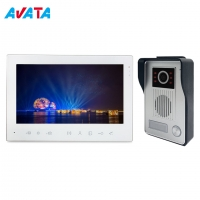 "Quality Anti Theft 7"" LCD Video Door Phone Doorbell Intercom Kit with Night Vision Camera for sale"