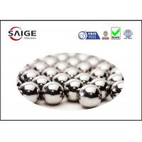 Quality Silver AISI 52100 Round Steel Balls With Diameter 2.778mm For Ball Bearings for sale