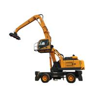 Quality Electic Fuel Power Material Handling Wheeled Crane WLYS35 Grab Crane for sale