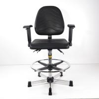 Buy cheap Durable Ergonomic Task Stool Polyurethane Foam Seat / Back Tilt Adjustment from wholesalers