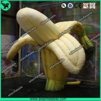Quality Fruits Promotion Inflatable Replica/Giant Inflatable Banana Model for sale