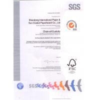 Guangzhou Chaoyue Paper Products Co.,Ltd. Certifications