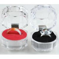 Quality acrylic ring box for sale