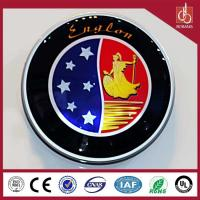 China Brand motor dealers wholesale huge size outdoor advertising thin vacuum acrylic car logo on sale