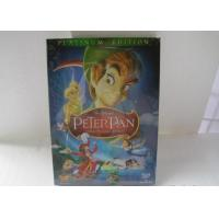 Quality 2018 Hot sell Peter Pan disney dvd movies cartoon dvd movies kids movies with slip cover case drop shipping for sale