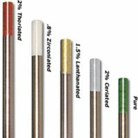 Quality WT20 Tungsten Electrodes For TIG Welding tungsten electrodes WL10 WL15 WL20 FREE SAMPLE HYUNDAI WELDING for sale