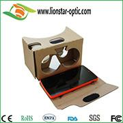 google cardboard vr virtual reality glasses 3d vr headset with custom brand
