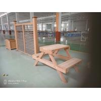 China Coffee / Grey Wood Plastic Composite Bench With No Toxic Chemicals Or Preservatives on sale