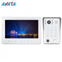 Quality Ahd 960p 1080P 7inch 4 Wire Interphone Video Intercom Smart Security Devices with Wide Angle Lens Camera for sale