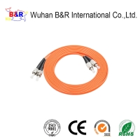 Quality 3.0mm OM4 Fiber Optic Patch Cable For FTTH for sale