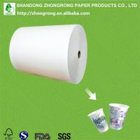 Quality paper cup paper with one side PE for sale