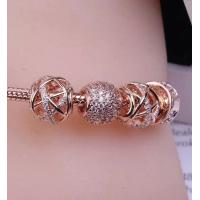 Quality ROSE GOLD SERIES IN 2018 1:1 sterling 925 silver jewlery high quality bracelet for sale