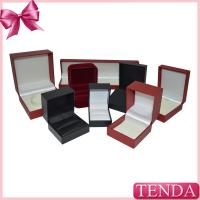 Quality Leather Leatherette Velvet Jewelry Jewellry Jewellery Packaging Boxes for sale