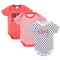 Quality Custom 3 Pack Baby Summer Clothes / Cotton Short Sleeve Bodysuit for sale
