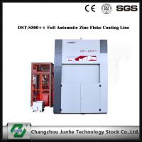 Quality Zinc Flake Dip Spin Coating Machine 75° Tilting Angle DST-S800++ Full Automatic centrifugal speed top coat for sale