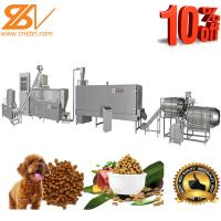 Quality Industrial Pet Feed Processing Machine Dog And Cat Food Making Equipment for sale
